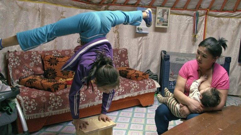 Kids on the Silk Road: Girl Against Gravity